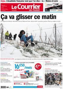 Le Courrier de l'Ouest Angers - 07 février 2018
