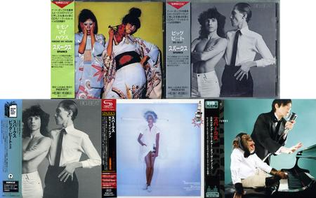 Sparks: Collection Part 03 (1974-2008) [5CD, Japanese Ed.]