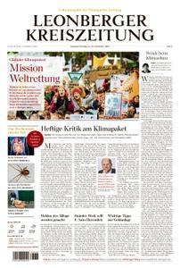 Leonberger Kreiszeitung - 21. September 2019