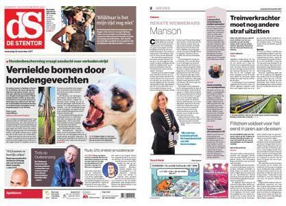 De Stentor - Apeldoorn – 22 november 2017