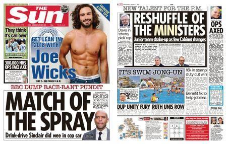 The Sun UK – 03 January 2018