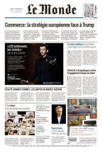 Le Monde du Dimanche 4 et Lundi 5 Mars 2018