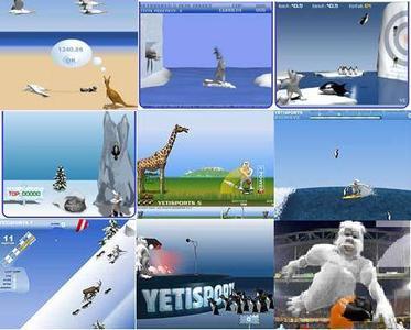 YetiSportPack 9 Games