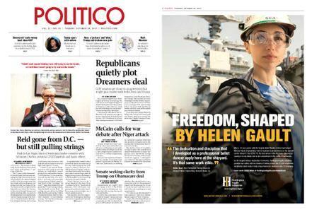 Politico – October 24, 2017
