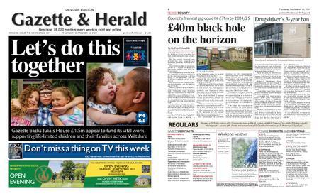 Gazette & Herald – September 16, 2021