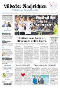 Lübecker Nachrichten Ostholstein Süd - 05. September 2017