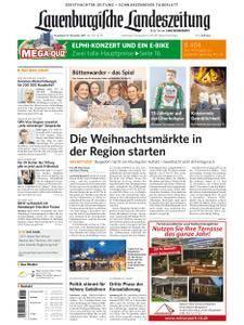 Lauenburgische Landeszeitung - 25. November 2017