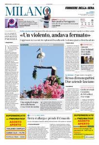 Corriere della Sera Milano – 14 agosto 2019