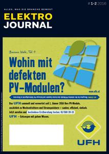 Elektro Journal - Januar/Februar 2016