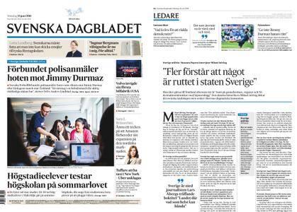 Svenska Dagbladet – 25 juni 2018