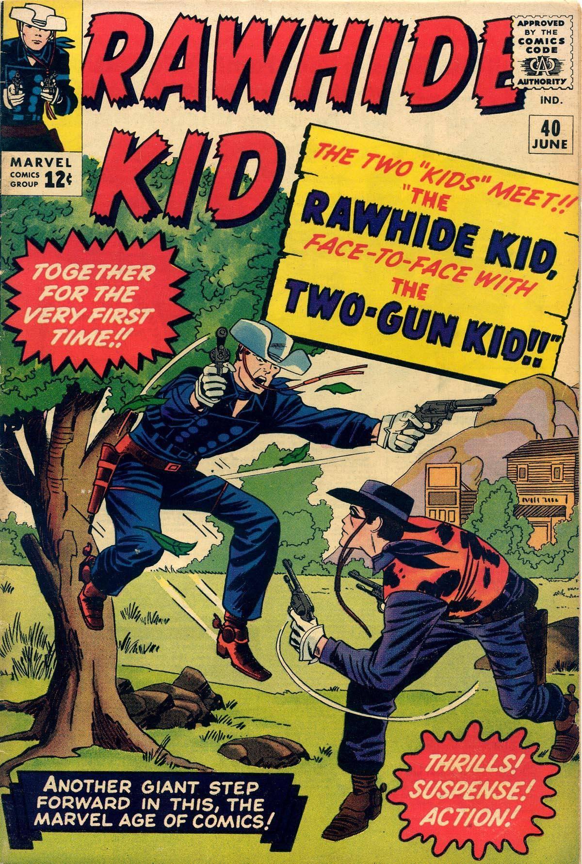 Rawhide Kid v1 040 1964 Punkrat