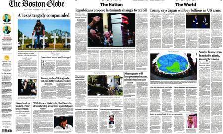The Boston Globe – November 07, 2017