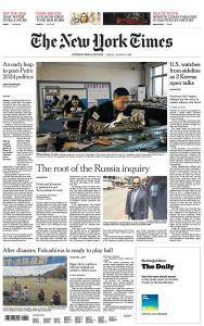 International New York Times - 5 January 2018