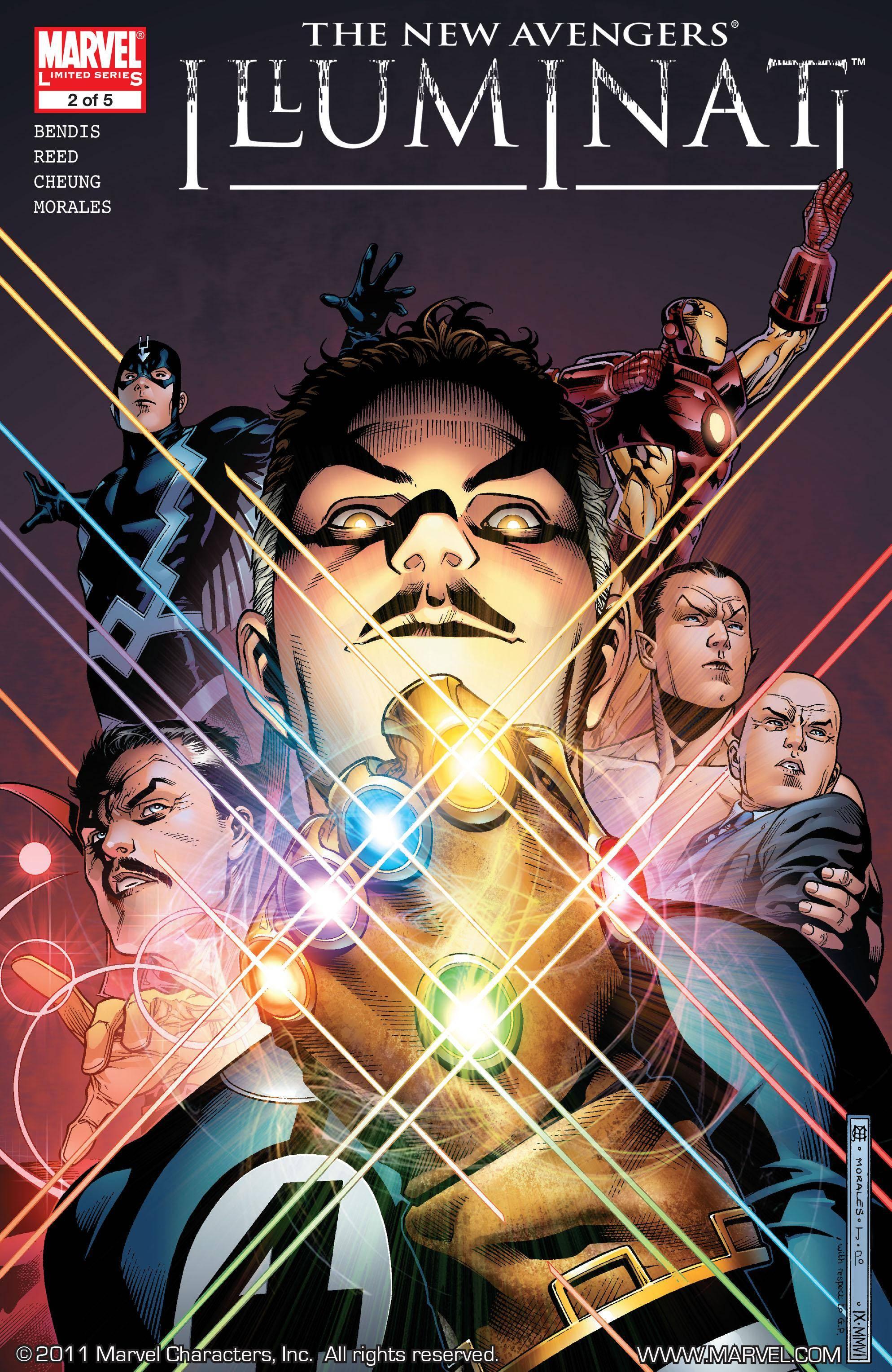 New Avengers - Illuminati 02 of 05 2007 digital