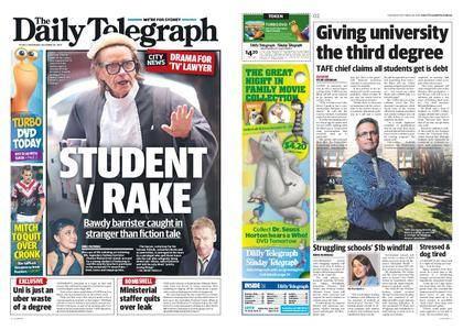 The Daily Telegraph (Sydney) – October 26, 2017