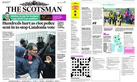 The Scotsman – October 02, 2017