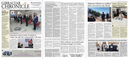 Gibraltar Chronicle – 12 November 2020