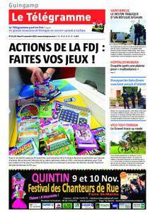 Le Télégramme Guingamp – 05 novembre 2019