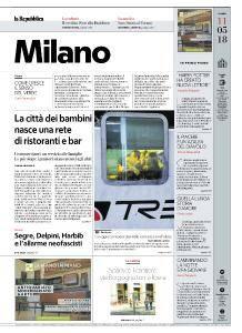 la Repubblica Milano - 11 Maggio 2018