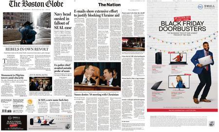 The Boston Globe – November 25, 2019
