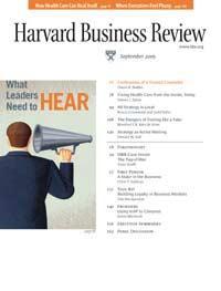 Harvard Business Review: September 2005 (proper PDF)