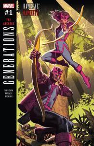 Generations - Hawkeye  Hawkeye 001 2017 Digital Zone-Empire