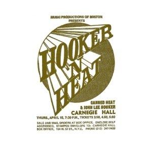 Canned Heat with John Lee Hooker - Carnegie Hall, New York City, NY (1971)