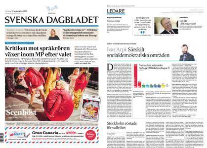 Svenska Dagbladet – 12 september 2018