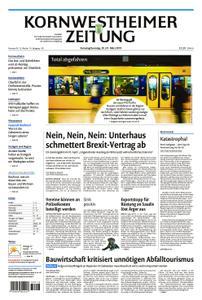 Kornwestheimer Zeitung - 30. März 2019