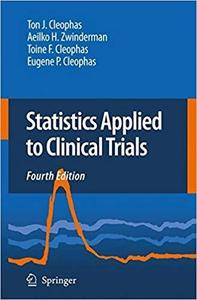 Statistics Applied to Clinical Trials [Repost]