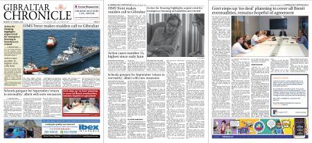 Gibraltar Chronicle – 10 August 2020