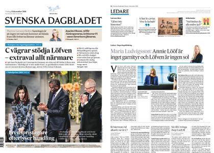 Svenska Dagbladet – 11 december 2018