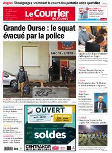 Le Courrier de l'Ouest Angers – 22 janvier 2021