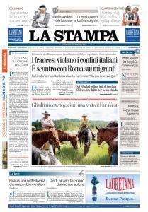 La Stampa Torino Provincia e Canavese - 1 Aprile 2018
