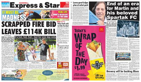 Express and Star Sandwell Edition – June 29, 2019