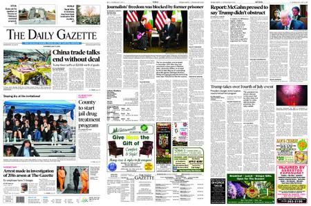 The Daily Gazette – May 11, 2019