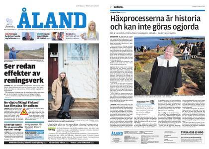 Ålandstidningen – 22 februari 2020
