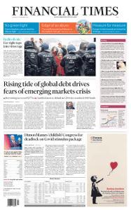 Financial Times Asia - November 19, 2020