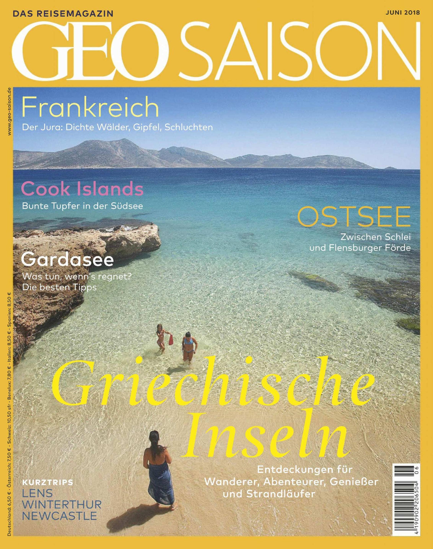 Geo Saison - Juni 2018