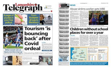 Lancashire Telegraph (Blackburn, Darwen, Hyndburn, Ribble Valley) – October 25, 2021