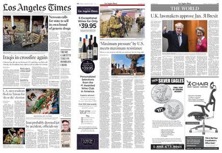 Los Angeles Times – January 10, 2020