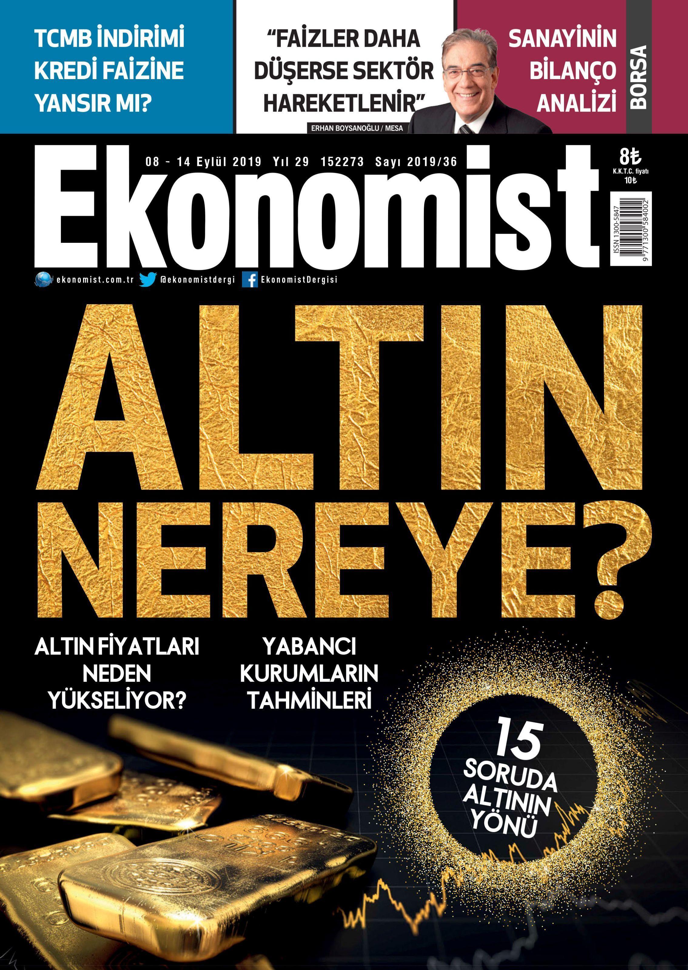 Ekonomist – 07 Eylül 2019