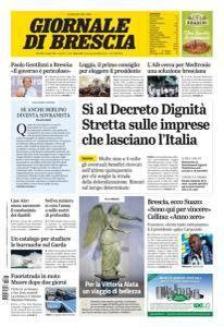 Giornale di Brescia - 3 Luglio 2018