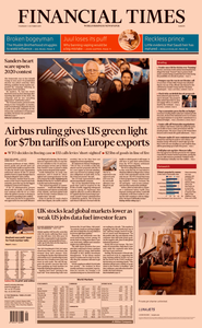Financial Times Europe – 03 October 2019