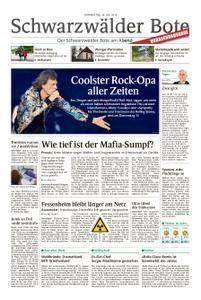 Schwarzwälder Bote Hechingen - 26. Juli 2018