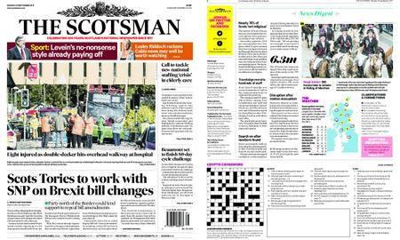 The Scotsman – September 18, 2017