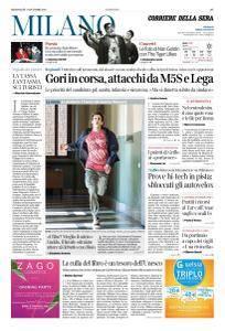 Corriere della Sera Milano - 1 Novembre 2017