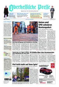 Oberhessische Presse Marburg/Ostkreis - 02. Februar 2018