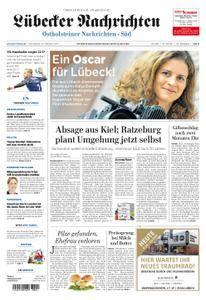 Lübecker Nachrichten Ostholstein Süd - 14. Oktober 2017