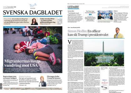 Svenska Dagbladet – 03 november 2018